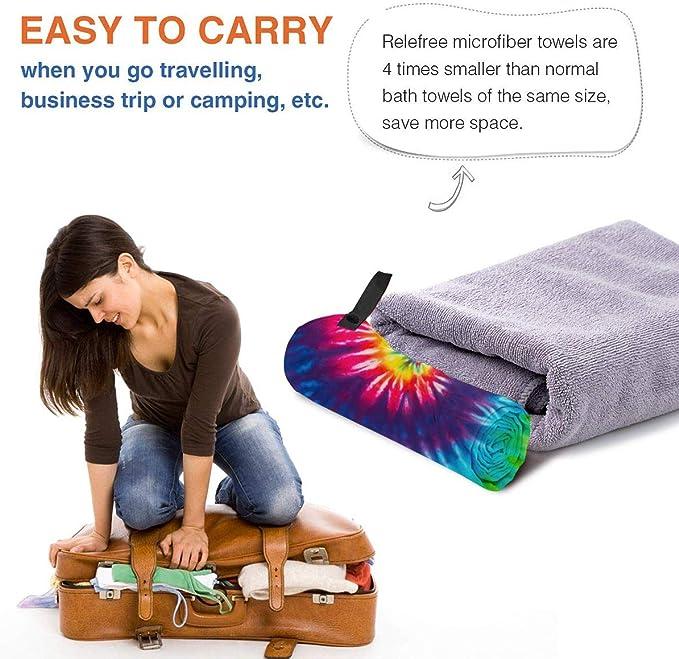 Naturehike Outdoor Travel Camping Microfiber Quick-Drying Towel Shower Beach