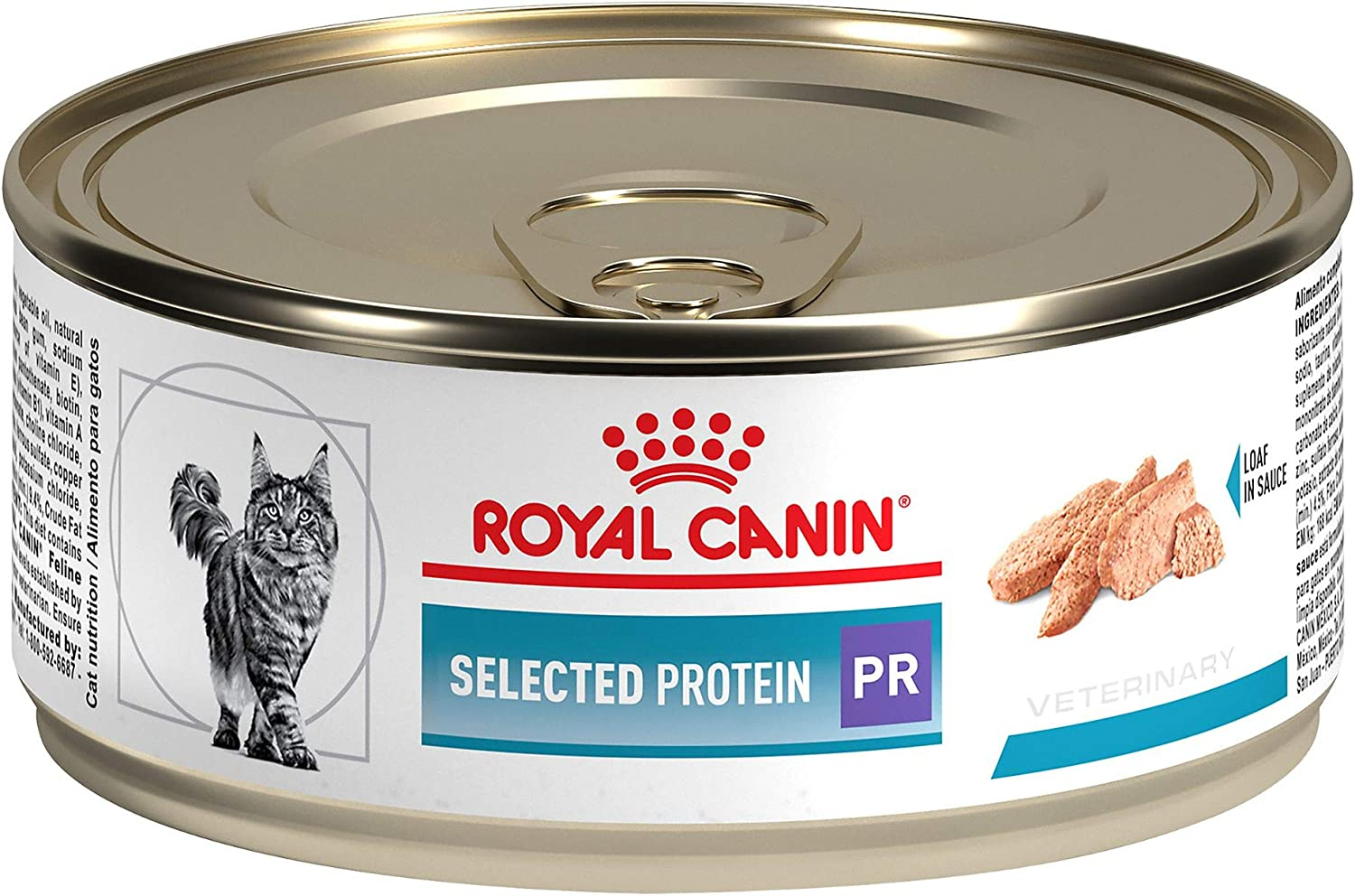 Royal Canin Feline Selected Protein PR Loaf in Sauce Canned Cat Food, 5.9 oz