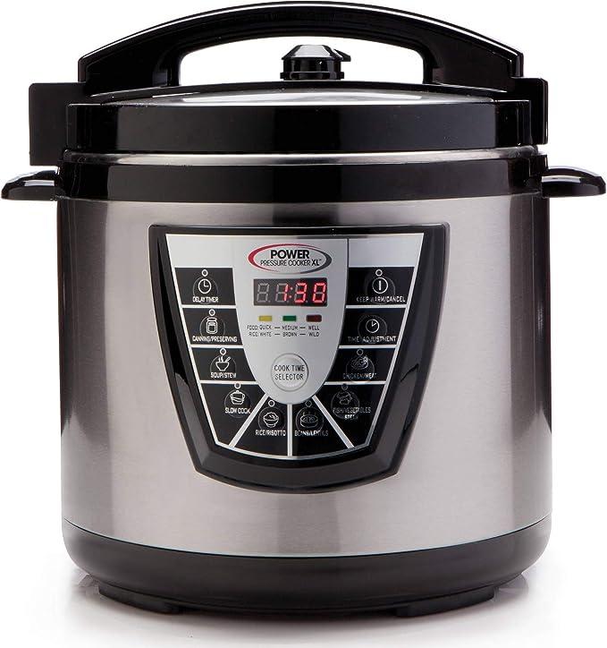 Amazon Power Pressure Cooker Xl 10 Qt Kitchen Dining