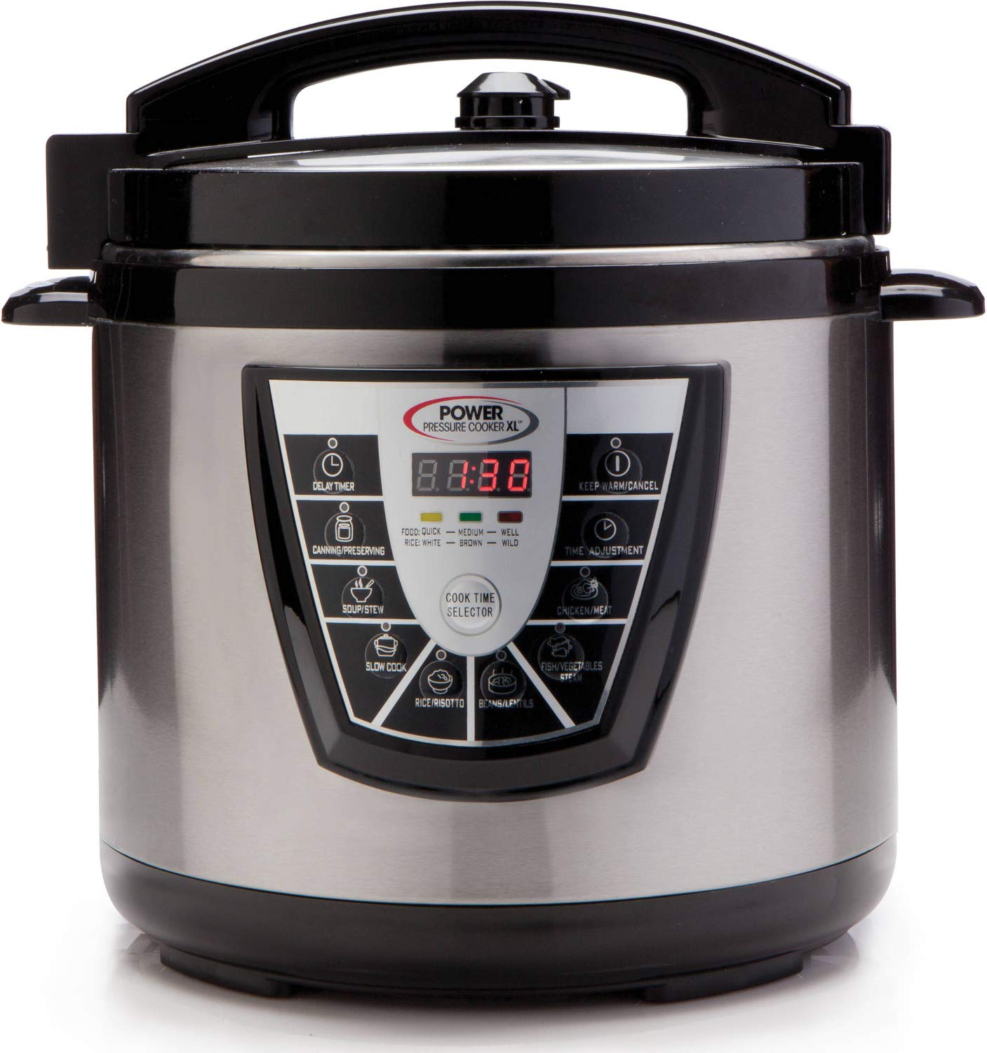 Power Pressure Cooker XL 6 Quart - Silver by Power Pressure Cooker XL (Image #1)