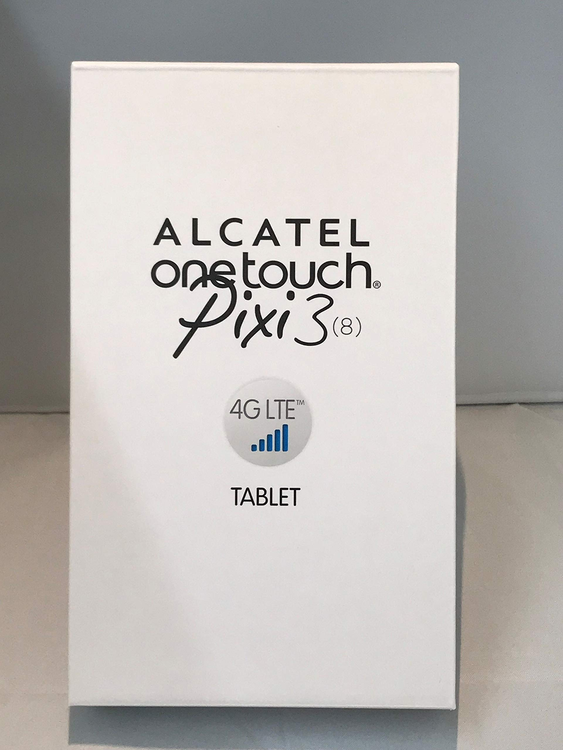 "Alcatel One Touch Pixi 3 8"" LTE 4G Tablet 9022X Genuine UK Specification"