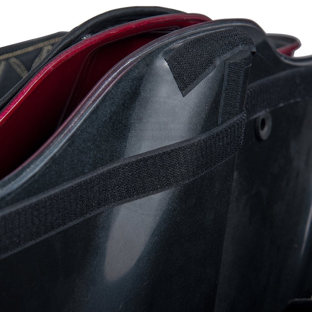 US Stock Red Thread Stitching Stretched Saddlebags Liners Extended Bag Inserts Fit for 2014 Aftermarket 4 1//2 inch Extended Hard Bottoms