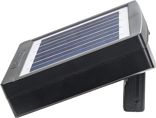 Amazon.com: Cargador de pilas recargables AA y AAA solares ...