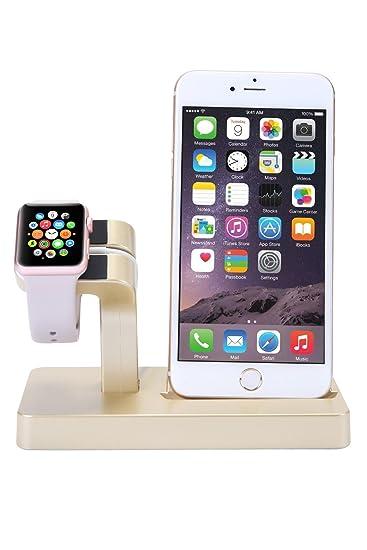 amazon com sprawl apple watch stand iphone charge docking station