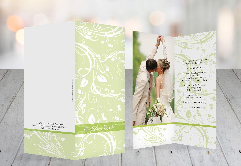 Kartenparadies Danksagung für Hochzeitsgeschenke Hochzeit Dankeskarte Blättertraum, hochwertige Danksagungskarte Hochzeitsglückwünsche inklusive Umschläge   10 Karten - (Format  105x215 mm) Farbe  RosaRosa B01MR8K4AO | Langfristig