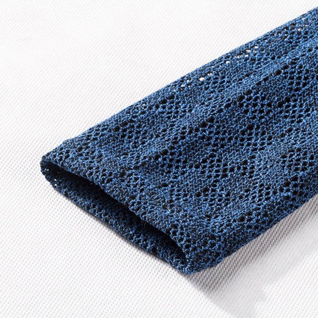 Keepfit Mens Knitted Sweater Slim Pullover Autumn Winter Jumper Knitwear Warm Tops Outwear