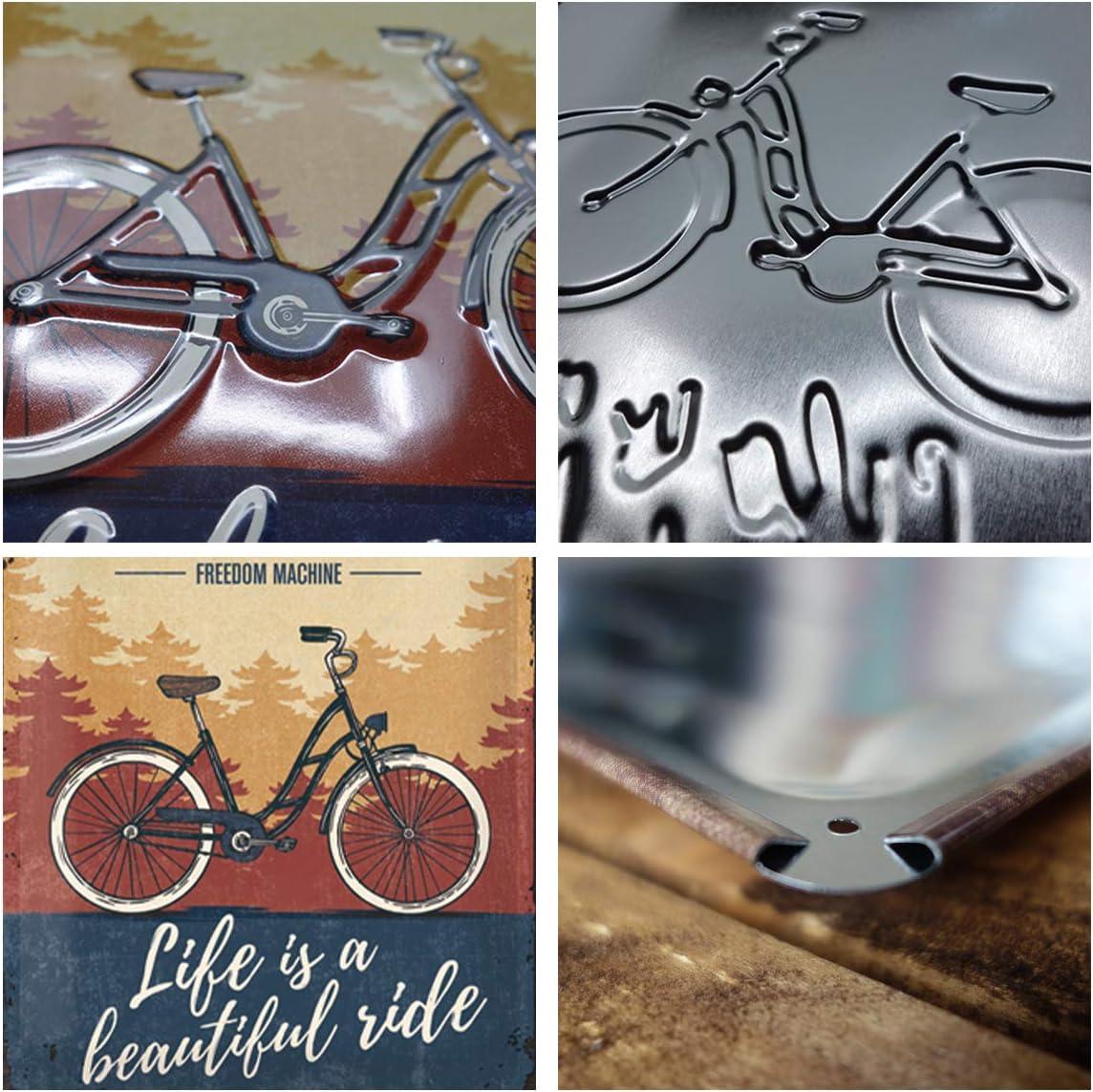 Nostalgic-Art Moto Guzzi logo de cartel de chapa