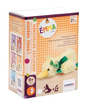 Glorex GmbH GLOREX 0 4627 - 1 Peluche molde para Pato Emma, 27 cm: Amazon.es: Juguetes y juegos