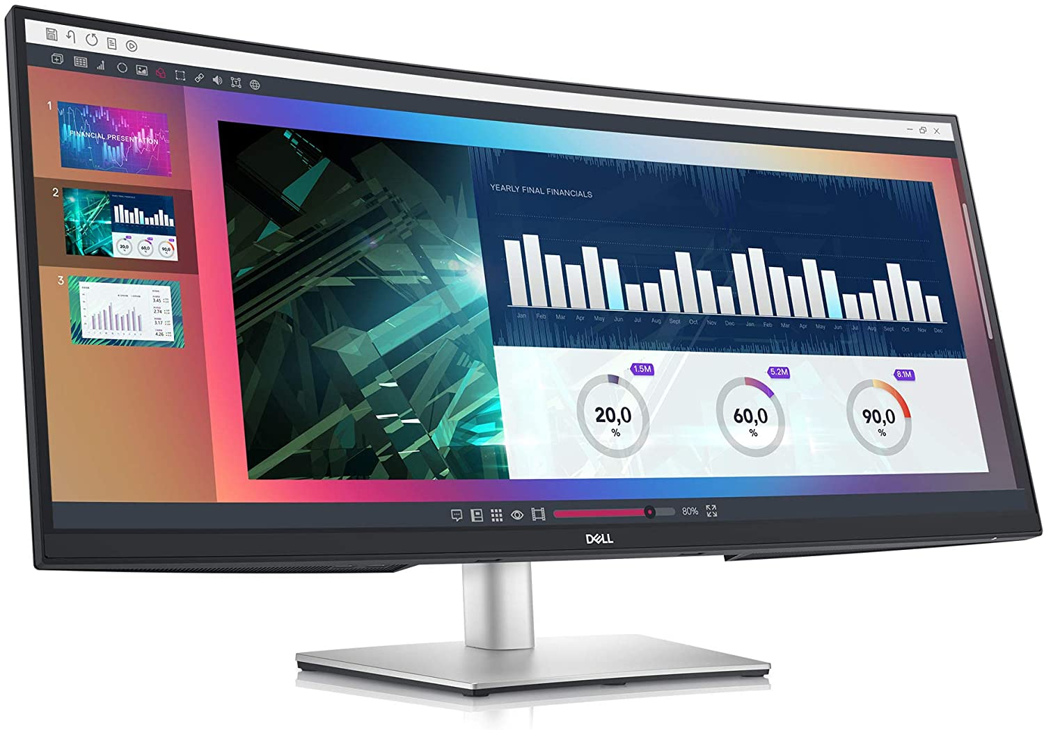 Dell Ultrawide Curved Monitor 34 Inch