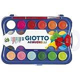 Aquarela 30mm, Giotto, 352400, Acquarelli, 24 Cores