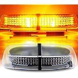 AMBOTHER Lumière d'Avertissement LED StrobeLight Base Magnétique 12V Imperméable