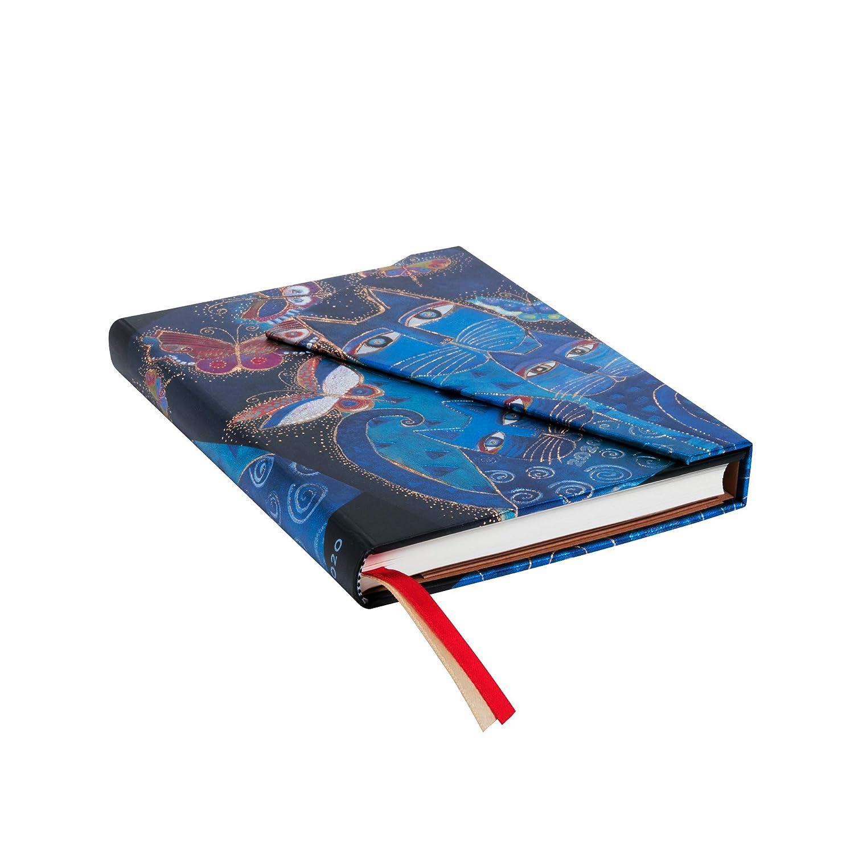 Paperblanks Agendas 12 Meses 2020 Gatos Azules y Mariposas ...