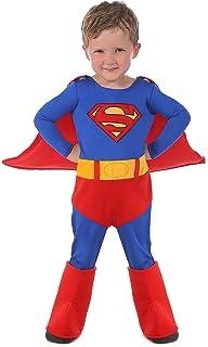 5620990e8 Warner Disfraz Infantil para Niño de Superman, Talla 6: Amazon.com ...