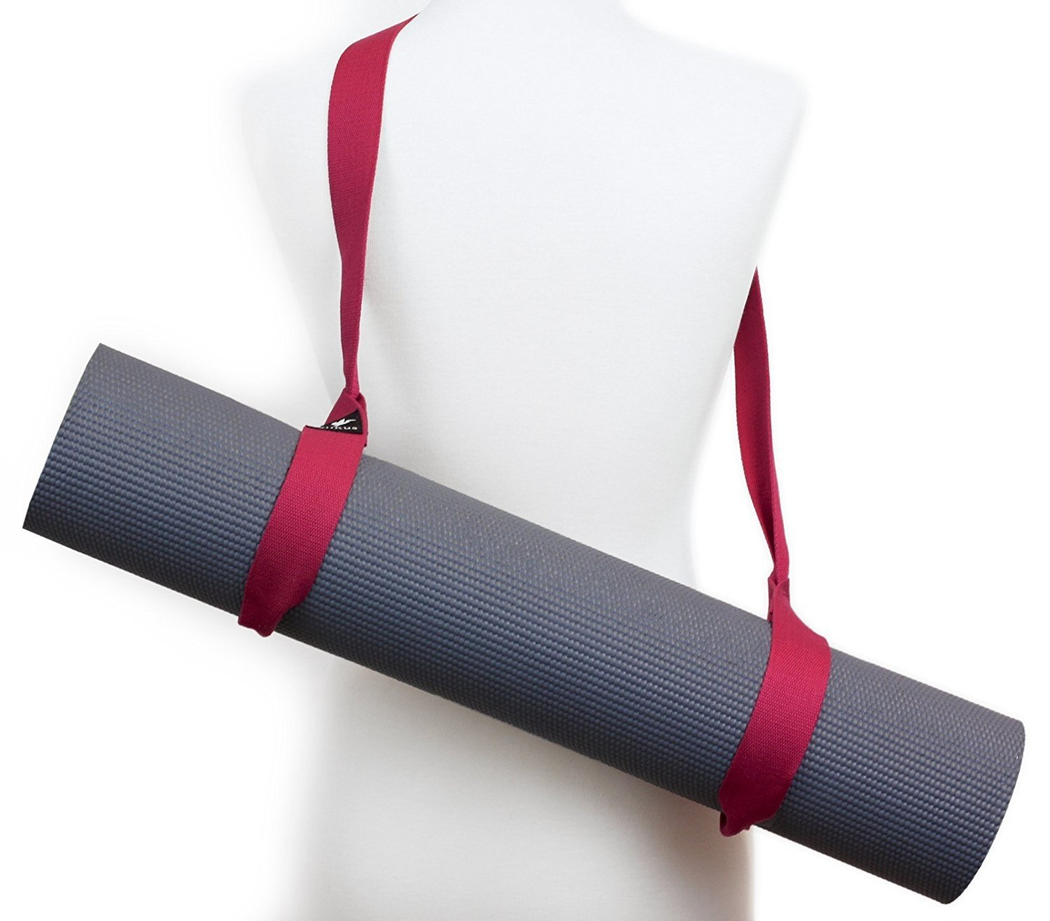 Amazon.com : Yoga Mat Carry Strap Sling - Adjustable ...