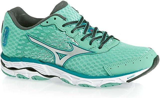 MIZUNO Wave Inspire 11 Zapatilla de Running Señora, Turquesa, 36.5: Amazon.es: Zapatos y complementos