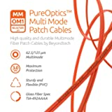 LC to ST Fiber Patch Cable Multimode Duplex - 15m