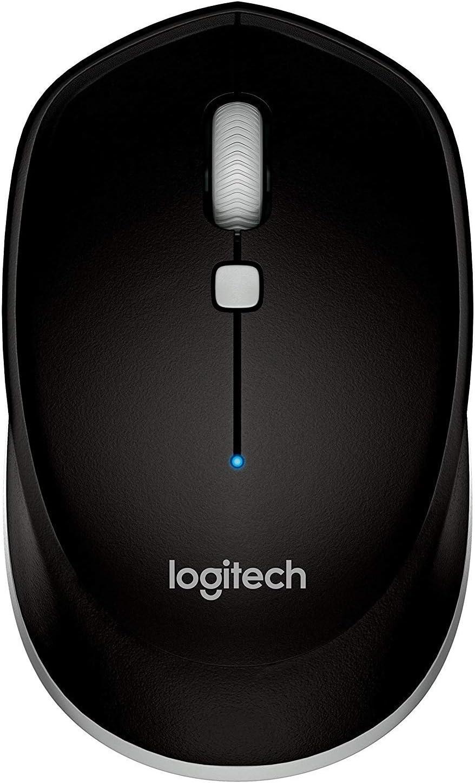 Logitech M535 - Ratón compacto con Bluetooth, color negro 910-004432 (renovado)