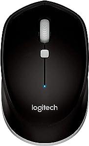 Logitech M535 Compact Bluetooth Mouse, Black - 910-004432 (Renewed)