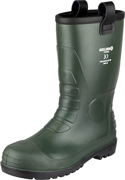 f03a88f2925 Amblers Safety Adult FS97 PVC Safety Rigger Wellington Wellies Boot ...