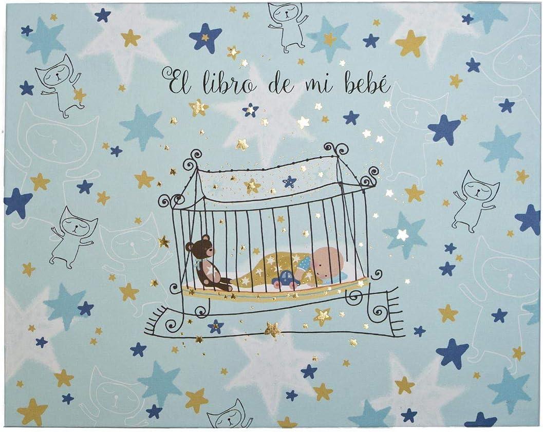 Libro de mi bebé de Color Azul Cuna