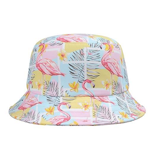 Hatphile Trends Men Women Bucket Hat (Geo Flamingo Blue) at Amazon ... 4c78c43f1d3