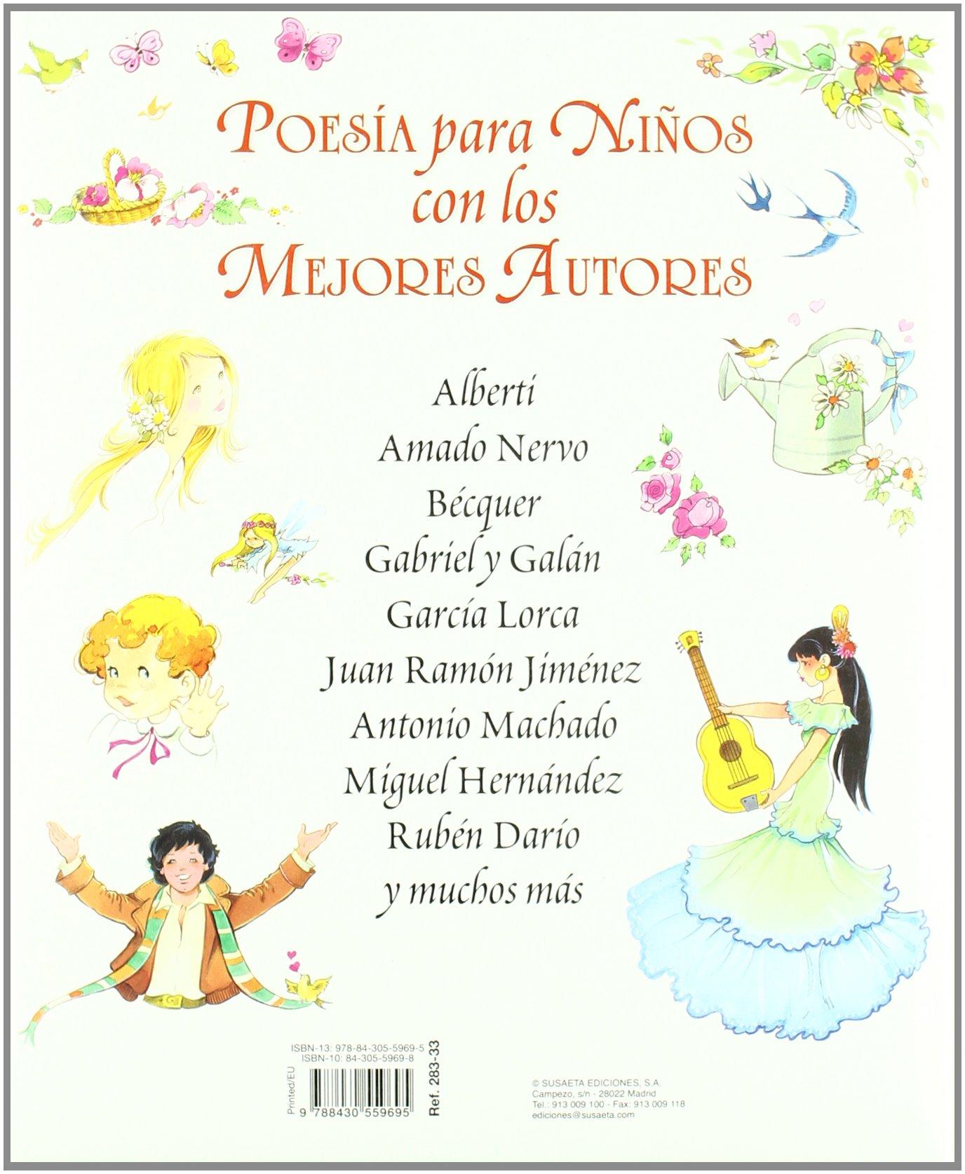 El Mejor Libro De Poesía Para Niños Grandes Libros Spanish Edition Susaeta Publishing Inc 9788430559695 Books