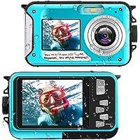 Waterproof Digital Camera Underwater Camera Full HD 2.7K 48 MP Video Recorder Selfie Dual Screens 16X Digital Zoom…