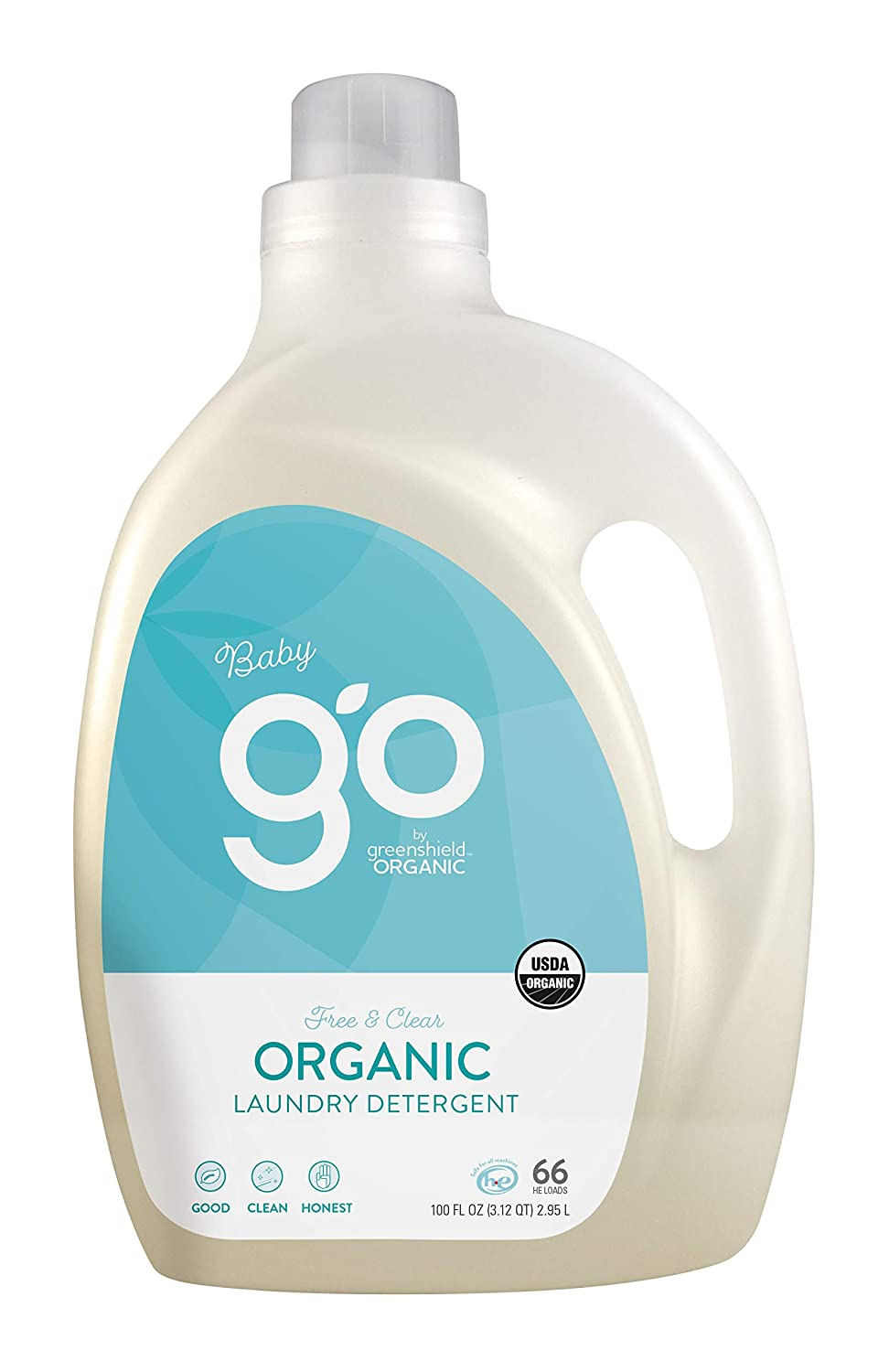 Greenshield Organic Organic Usda Baby Laundry Detergent - 100 Oz Green Shield Organic