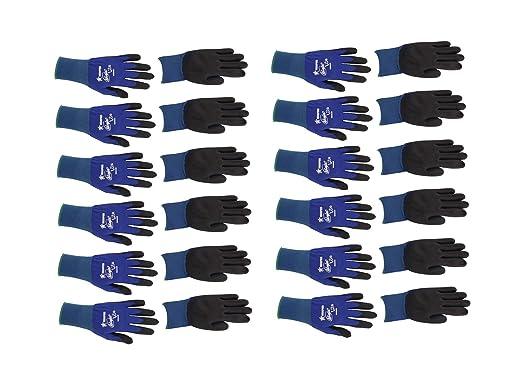 Memphis n9696 azul Ninja Lite guantes, calibre 18, tamaño ...
