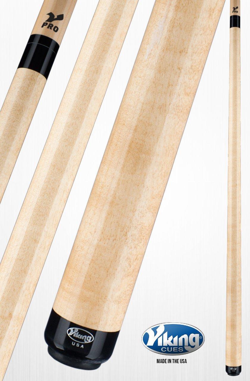 Viking a208プールキュースティックカーキStain Northwoods MapleクイックリリースジョイントV Proシャフト18、18.5、19、19.5、20、20.5、21オンス B01MSCNGGR  21.0 オンス