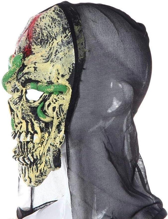 HZY Halloween Zombie Terror Mask Cara Completa para Adultos ...