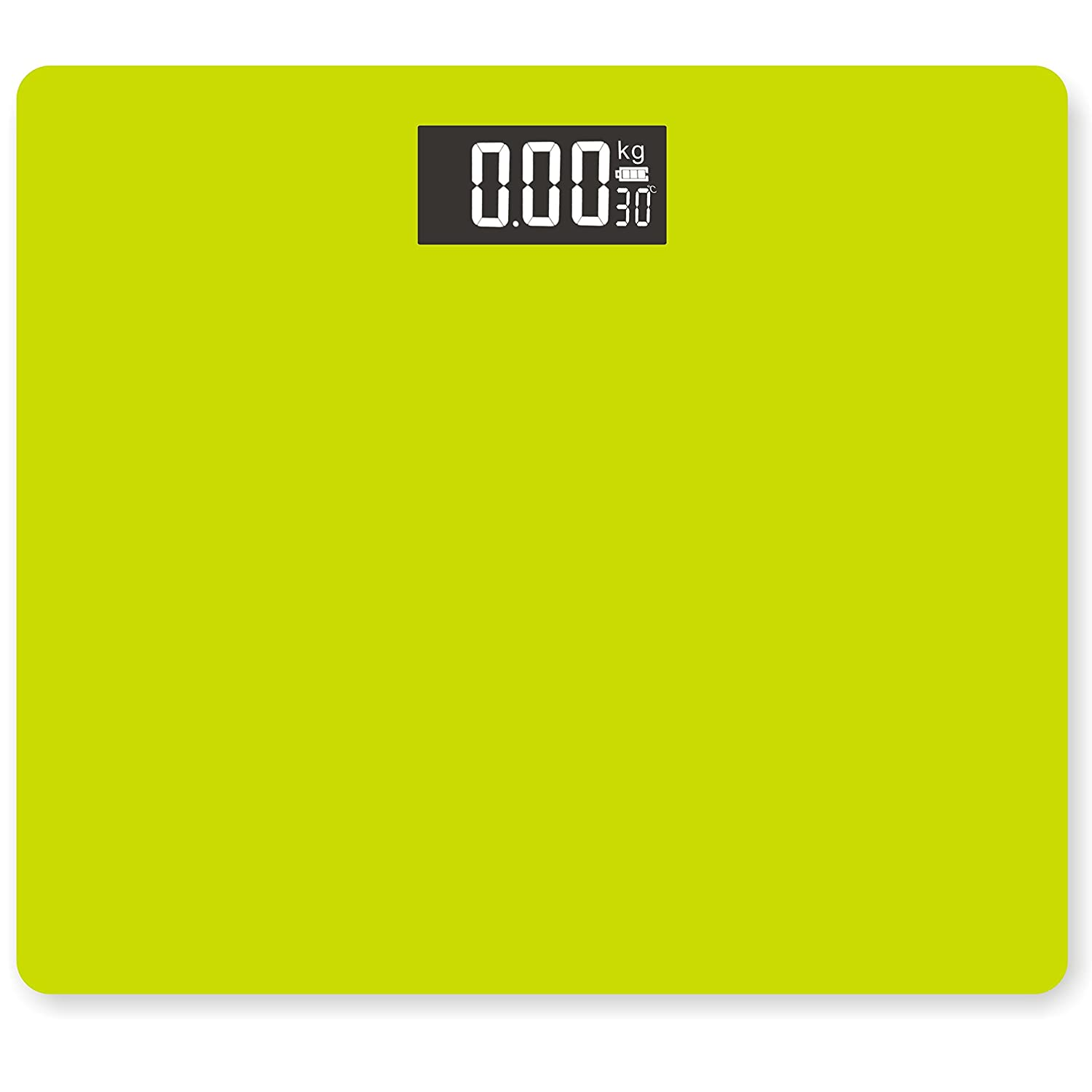 DR. HEALTH 400 lbs Digital Bathroom Scale Measures Weight. Bath Scale, Step-on Activation Vanity Body Scale (Green) DIGIPARTS
