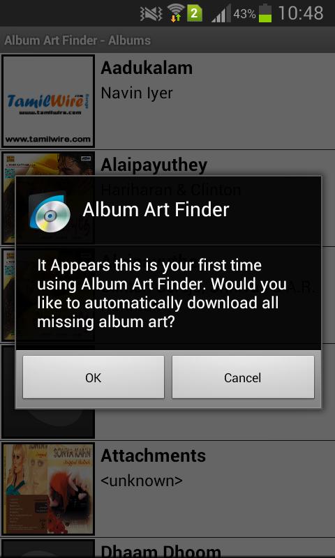 album artwork downloader apk
