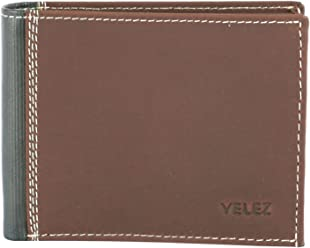 Velez Mens Genuine Colombian Leather Trifold Wallet | Billeteras de Cuero Hombre