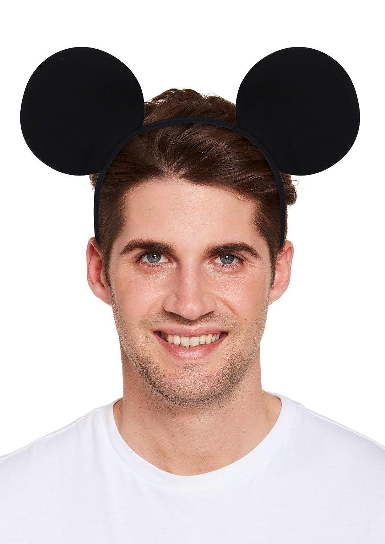 NEW MICKEY MOUSE EARS STAG DO NIGHT MEN BOYS PARTY FANCYDRESS HEADBAND ACCESSORY