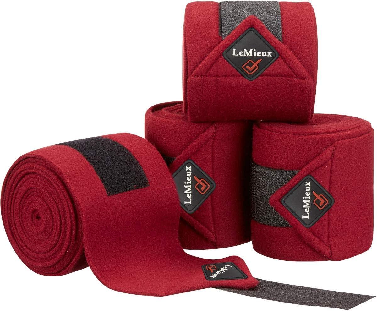 LeMieux Fleece Set of 4 Polo Bandages