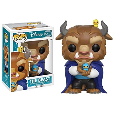 Funko POP Disney: Beauty & The Beast-Winter Beast Action Figure: Funko Pop! Disney:: Toys & Games