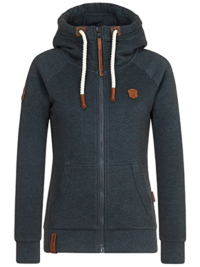 Clothing Sweater Dirty Brazzo Zip Naketano Hooded Hoodie Amazon co Women uk qqwFxZvWC7