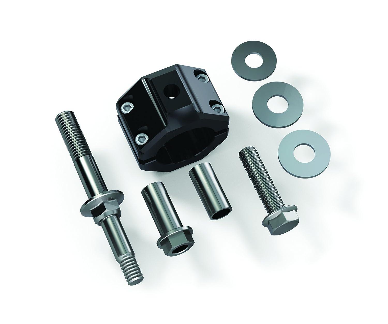 for Stock Tie Rod TeraFlex 1123140 Steering Stabilizer Relocation Bracket Kit JK
