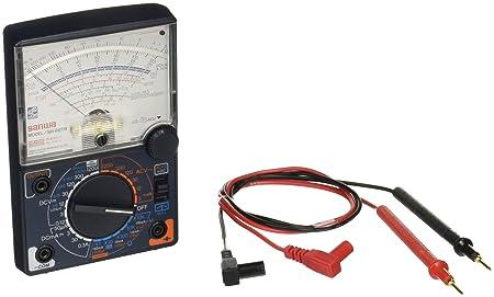 Review Sanwa SH-88TR Analog Multimeter,
