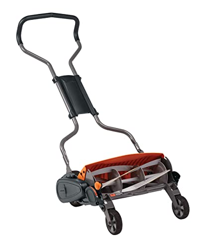 Fiskars 362050-1001 StaySharp Max Reel Mower, 18 Inch, Black