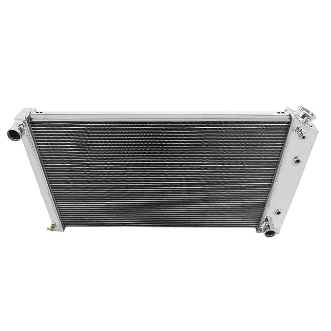 Champion Cooling, 2 Row All Aluminum Radiator for Multiple Chevrolet, Buick, EC161