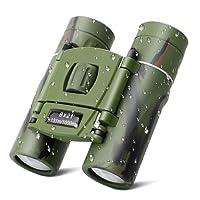 Debonice Mini Jumelles 8x21 Enfant Télescope Imperméable et Anti-Fall pour Observation des Oiseaux,Pêche,Camping,Randonnée etc