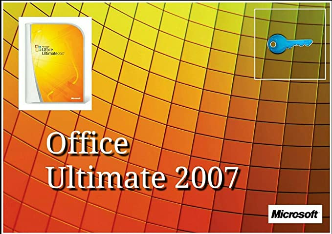 Microsoft Office 2007 Ultimate Vollversion 1pc Multilanguage