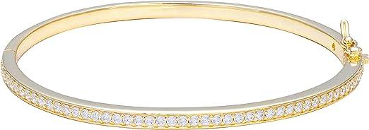 14K Gold Plated Cubic Zirconia Tennis Bracelet