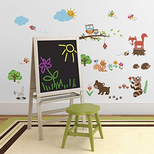 Into the Woods Baby or Nursery Decorative Wall Art Sticker Decals