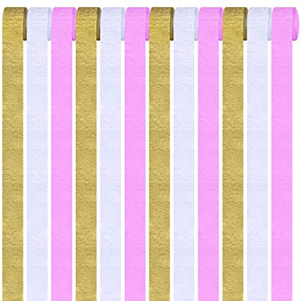 Amazon Com 12 Rolls 324 Yard Party Streamers Photo Booth Backdrop