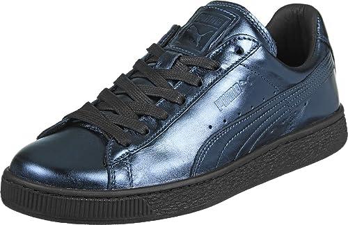 Puma Basket Creepers W Calzado indigo/black: Amazon.es: Zapatos y complementos