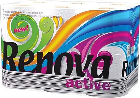 Wholesale Toilet Paper : Bulk buy 48 toilet rolls of renova active toilet roll tissue paper