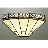 Mission Tiffany - Lámpara de pared, diseño de Tiffany